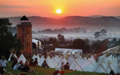 Wellies at the ready! The history  of the Glastonbury Festival