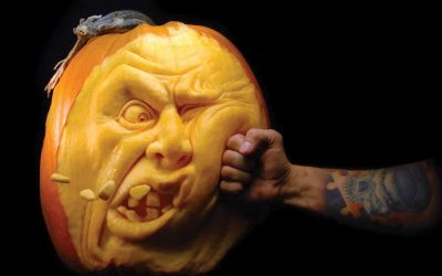 Crazy Carvings! Amazing pumpkin art by Ray Villafane
