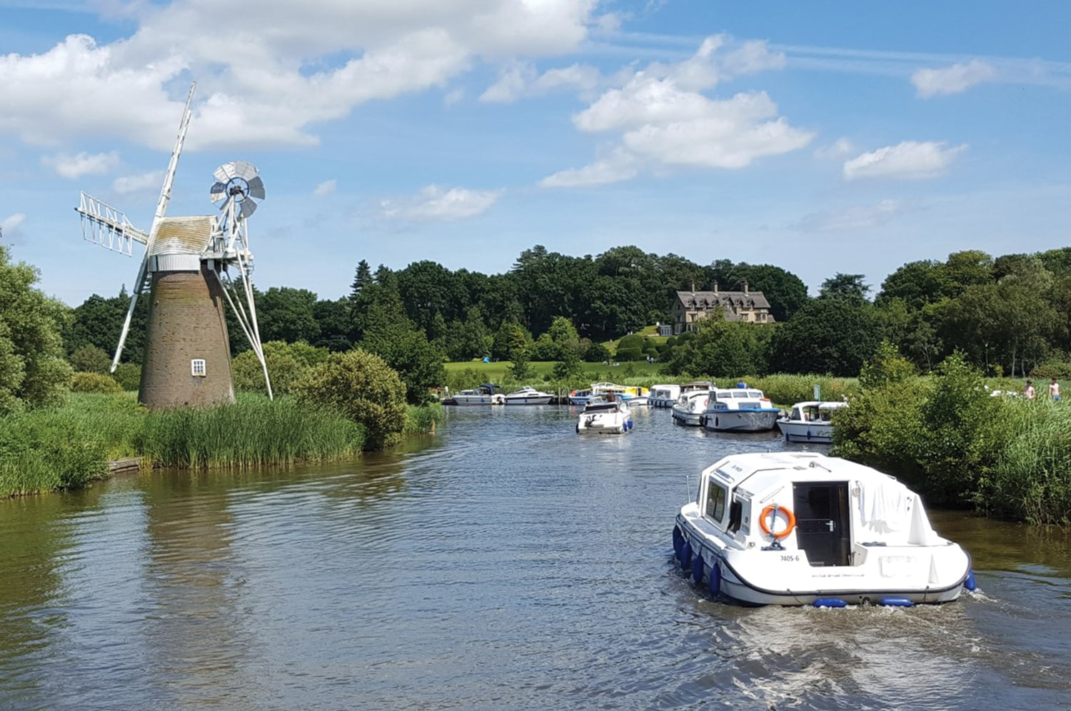 Boating for beginners: Set sail on the Norfolk Broads - Our Place