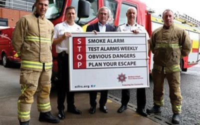 Legendary NI goalkeeper Pat Jennings backing safety message for over 50s
