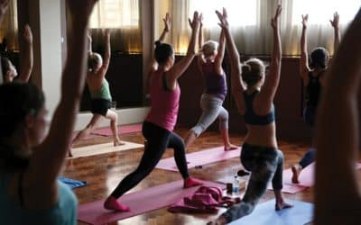 Yoga on the NHS could help treat anxiety, once you've braved first-timer worries