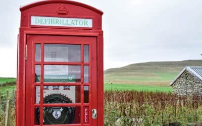 New lease of life for red phone boxes now helping save lives