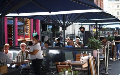 Al fresco dining to become the norm on nation's high streets in Boris Johnson's bid to level up the UK